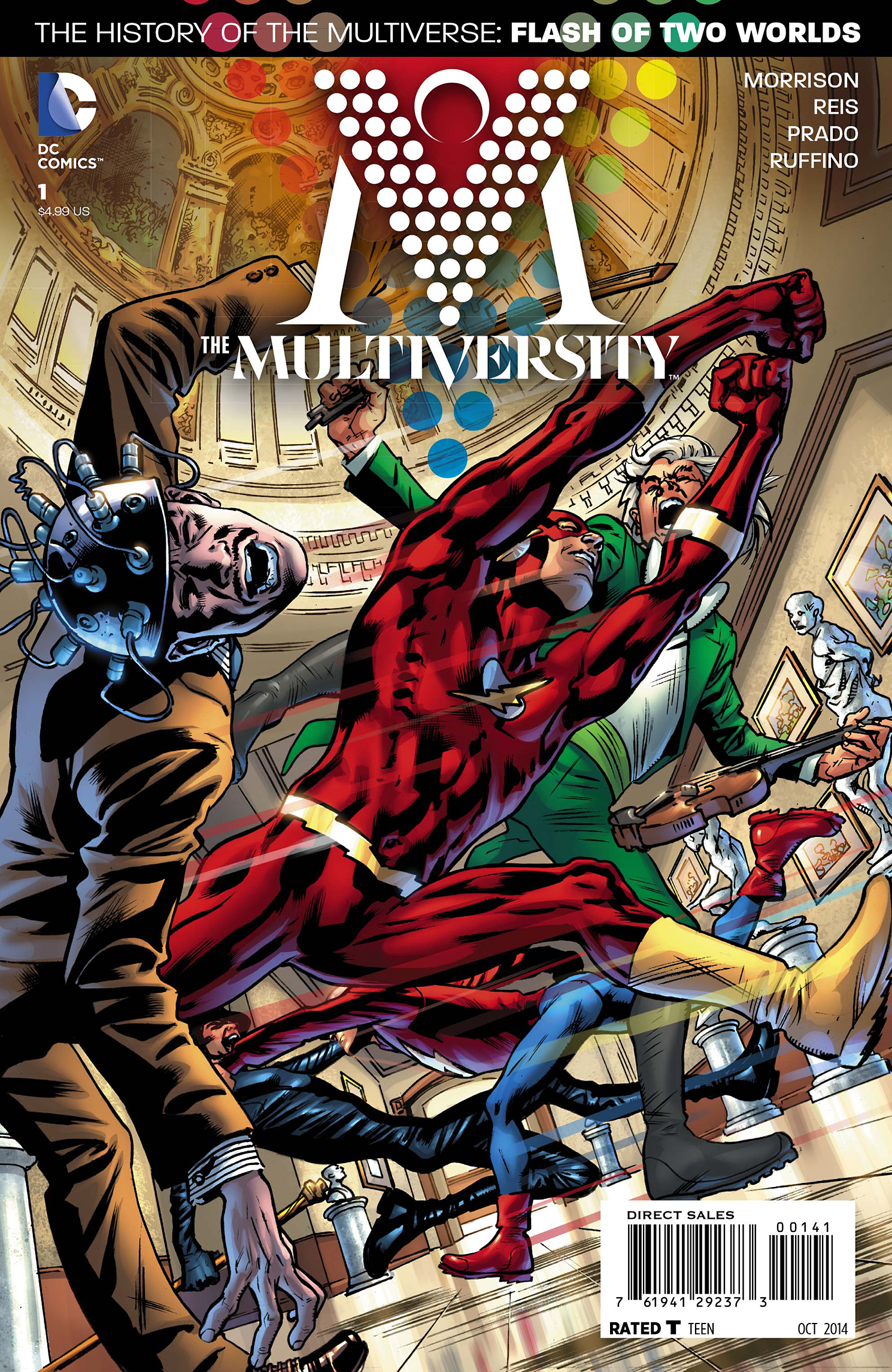 MULTIVERSITY #1 BRYAN HITCH VAR ED