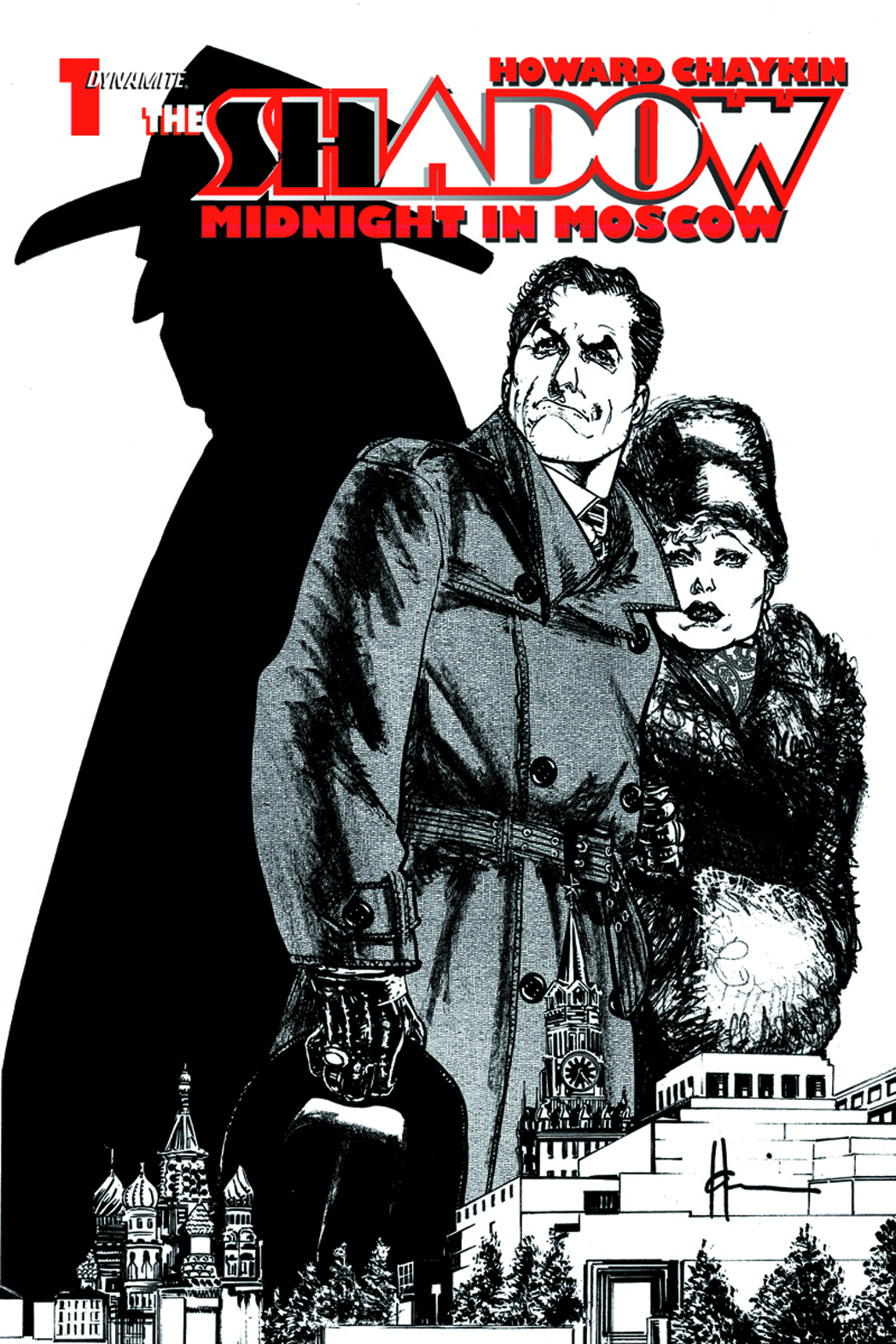 SHADOW MIDNIGHT MOSCOW #1 RARE FOC ED SGN CHAYKIN