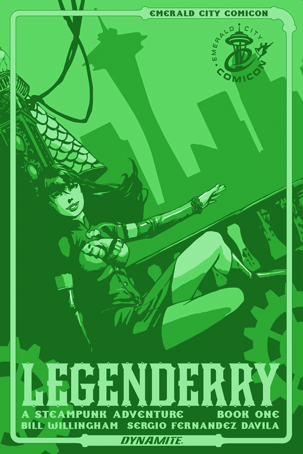 LEGENDERRY A STEAMPUNK ADV #1