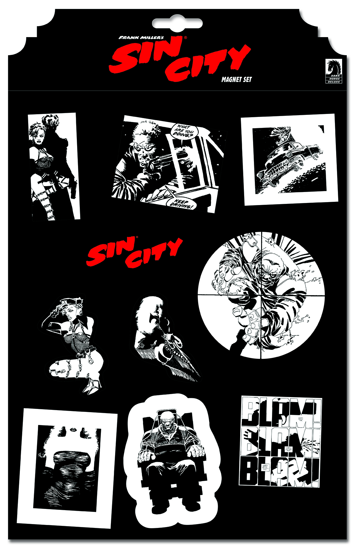 SIN CITY MAGNET SET #2