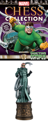 MARVEL CHESS FIG COLL MAG #16 DOCTOR OCTOPUS BLACK KNIGHT