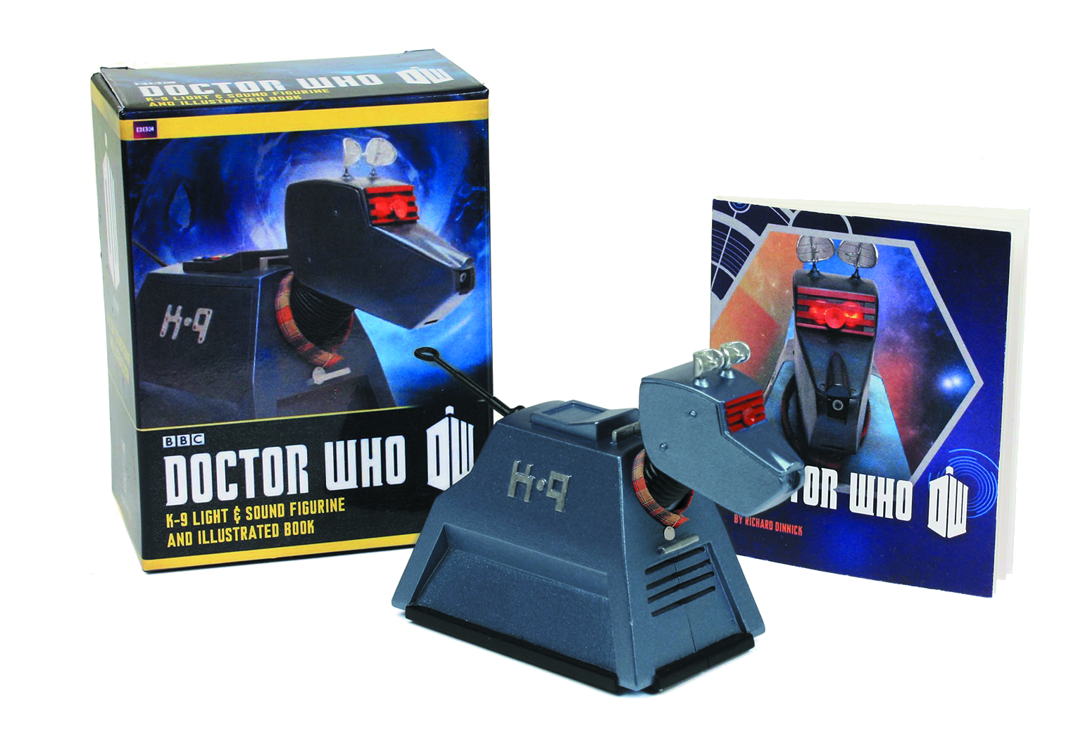 DOCTOR WHO K-9 LIGHT & SOUND FIGURINE & BOOK KIT