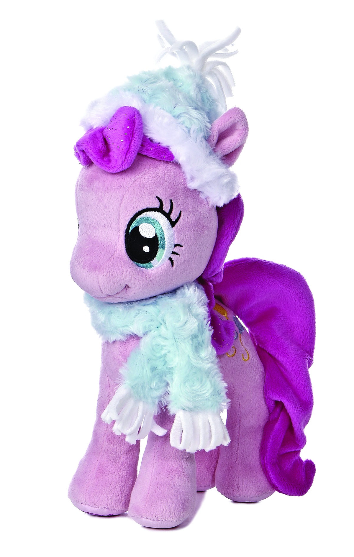 AURORA MLP PINKIE PIE FUZZY HAT & SCARF 10IN PLUSH
