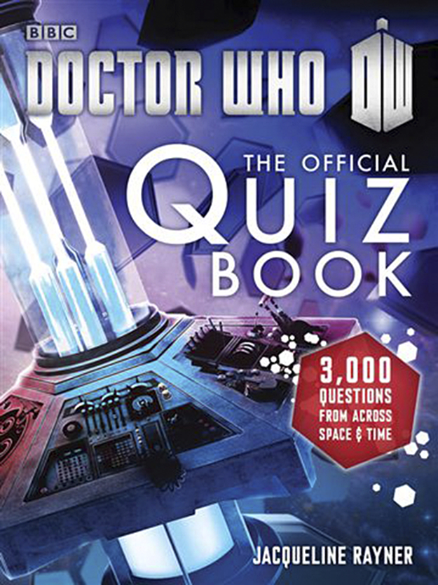 DOCTOR WHO OFFICIAL QUIZ BOOK SC