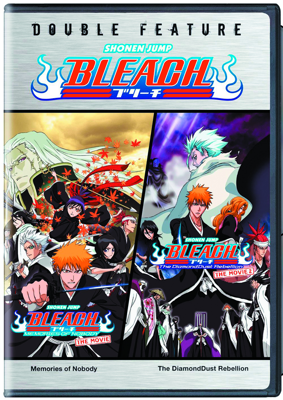 BLEACH MOVIES DOUBLE FEATURE DVD