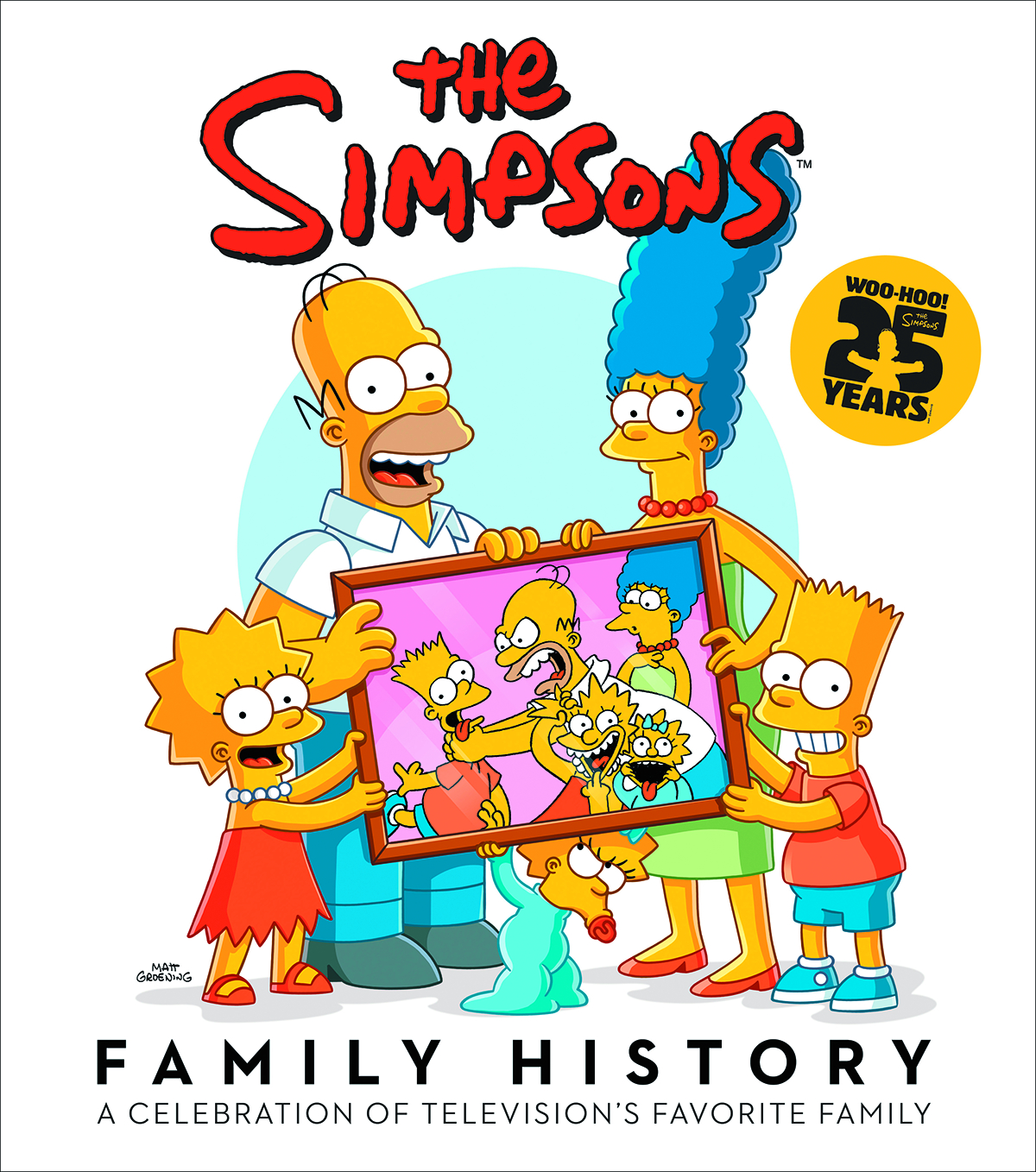 SIMPSONS FAMILY HISTORY HC