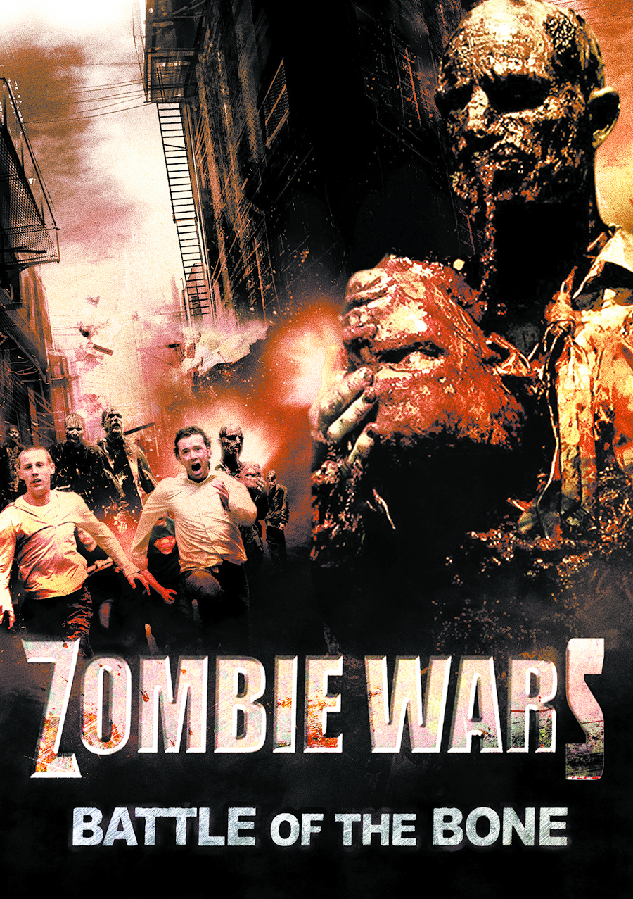 ZOMBIE WARS BATTLE OF THE BONE DVD