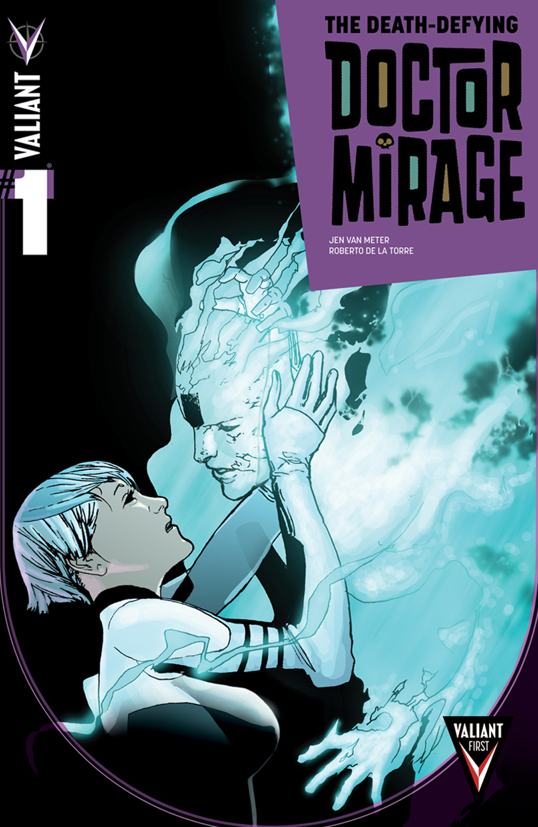 DEATH DEFYING DR MIRAGE #1 (OF 5) BLANK CVR