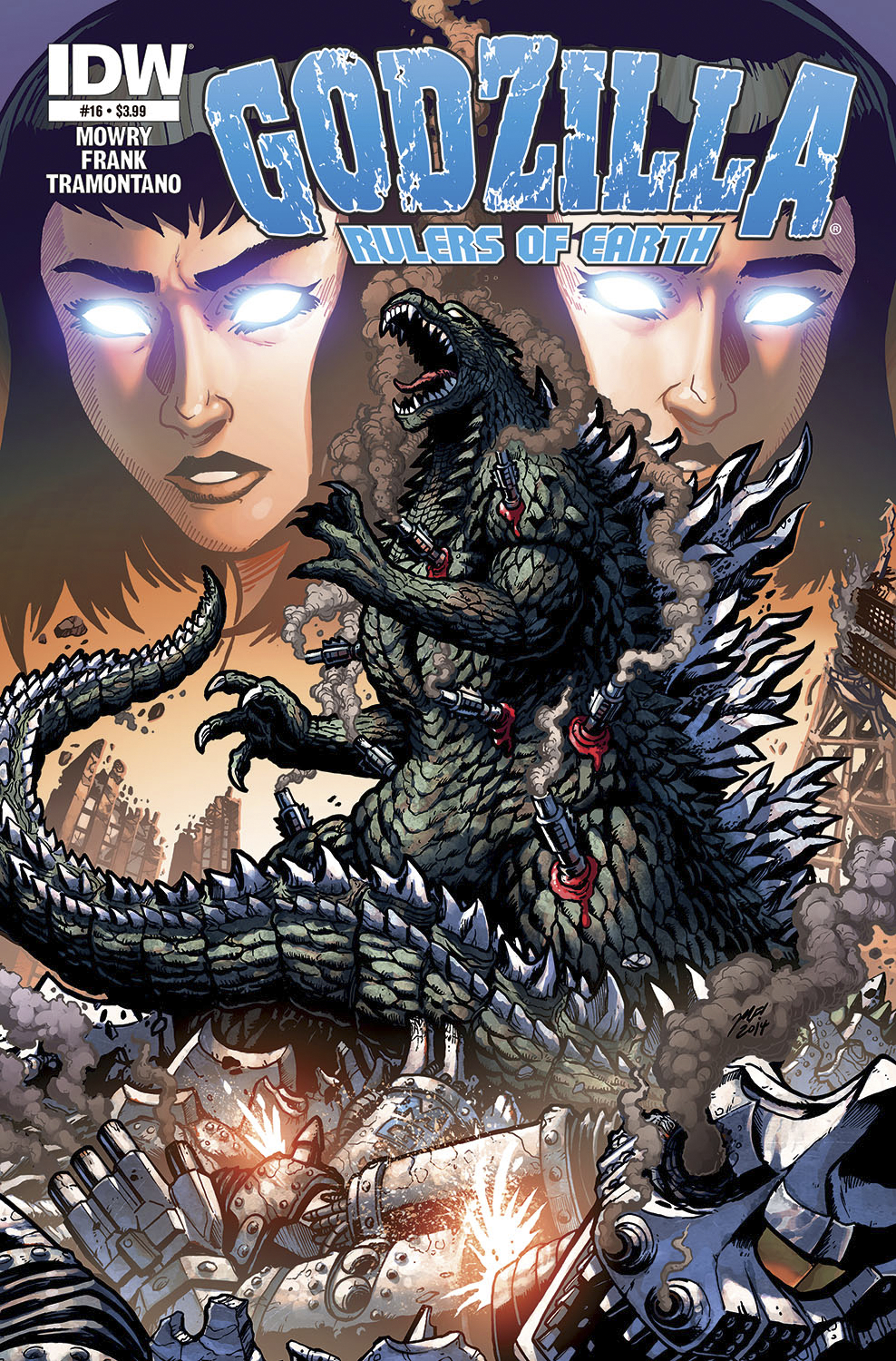 GODZILLA RULERS OF THE EARTH #16