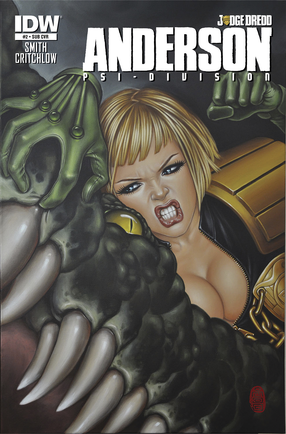 JUDGE DREDD ANDERSON PSI DIVISION #2 SUBSCRIPTION VAR