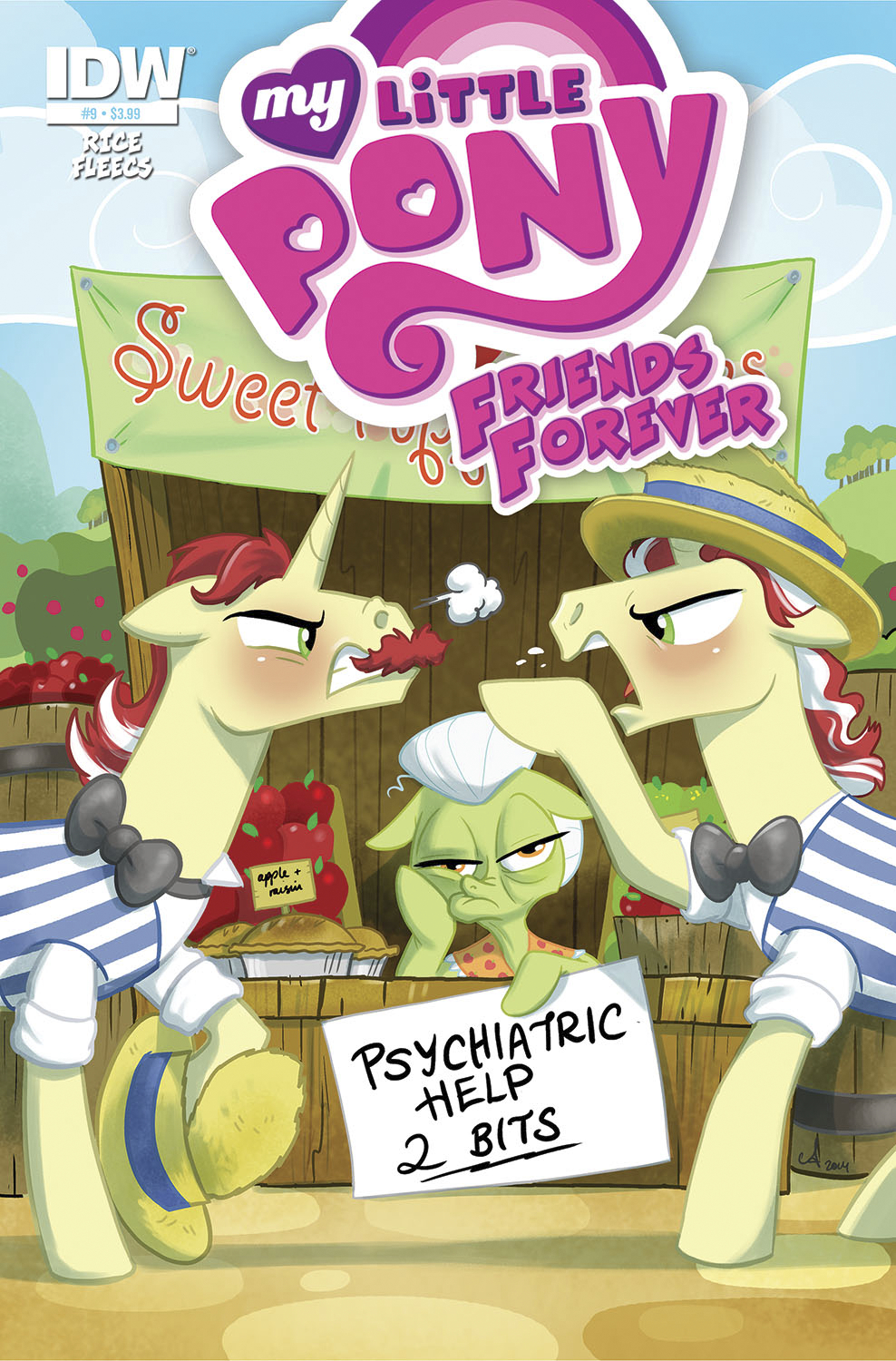 MY LITTLE PONY FRIENDS FOREVER #9 SUBSCRIPTION VAR