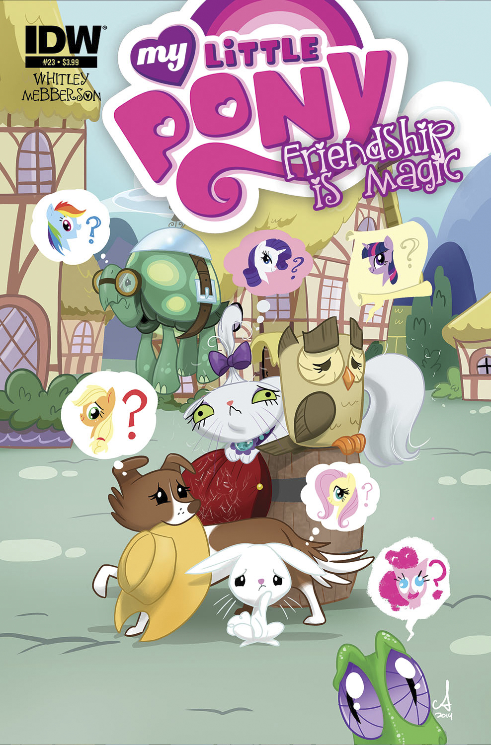 MY LITTLE PONY FRIENDSHIP IS MAGIC #23 10 COPY INCV