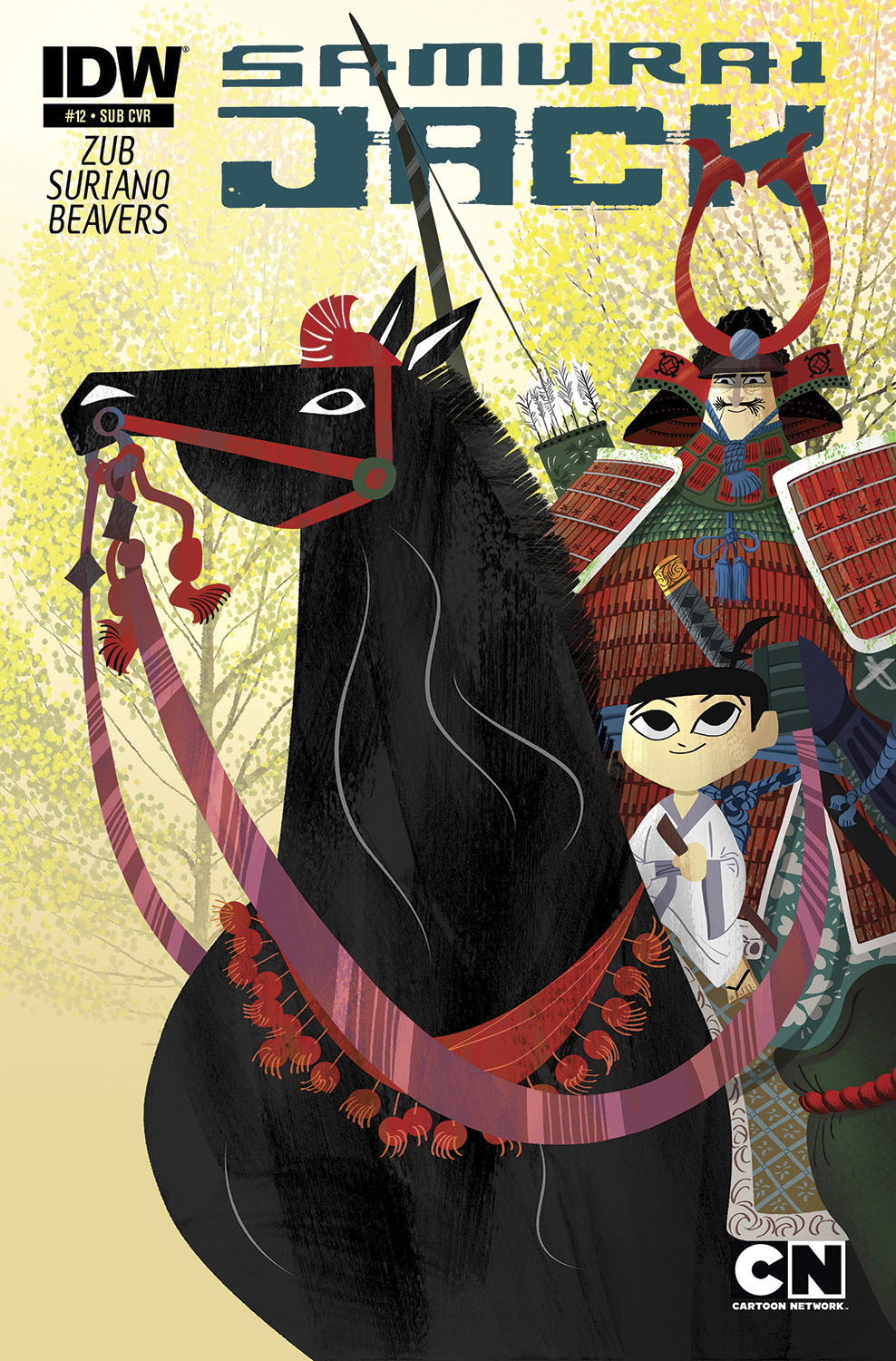 SAMURAI JACK #12 SUBSCRIPTION VAR