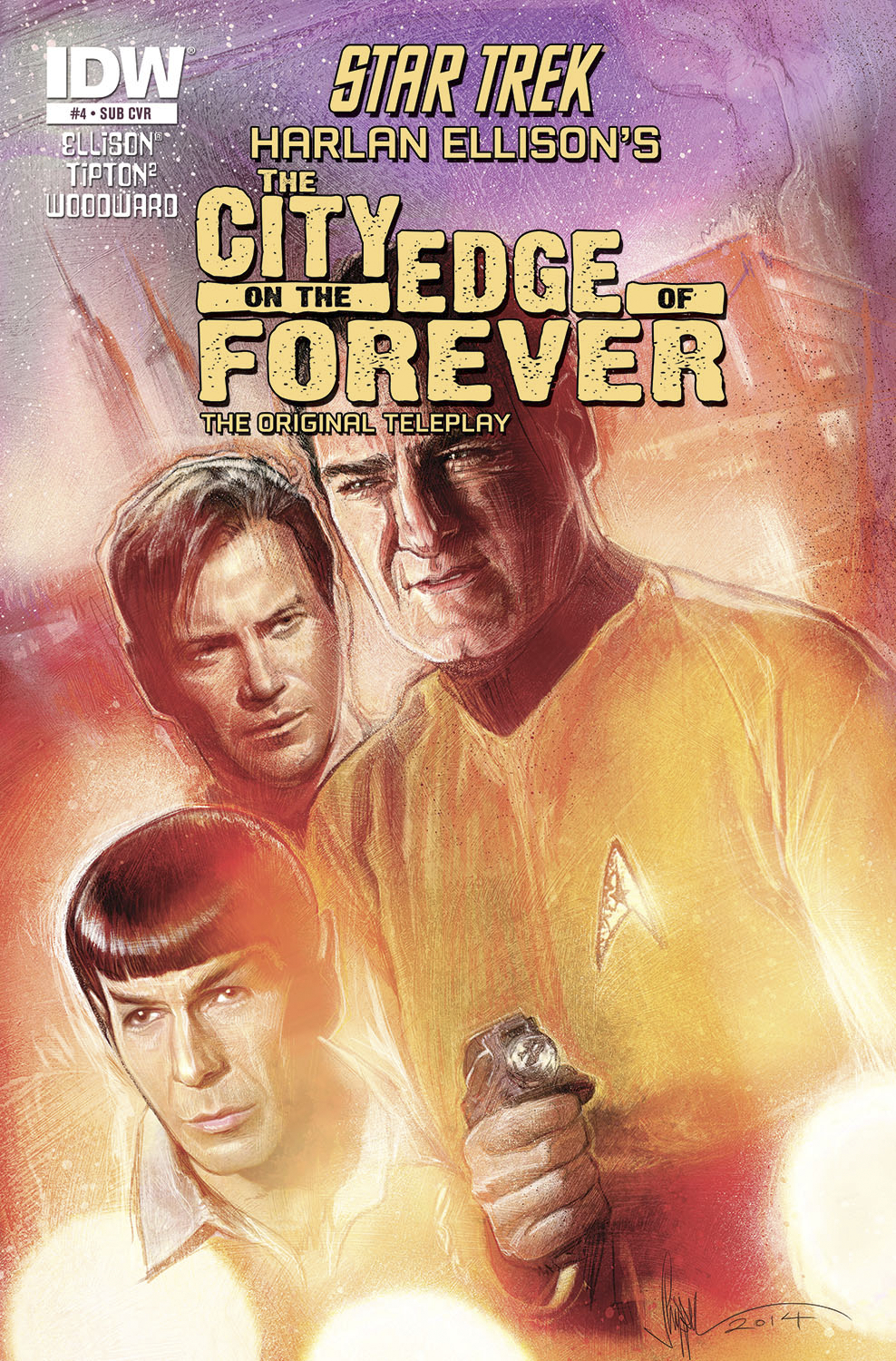 STAR TREK CITY O/T EDGE OF FOREVER #4