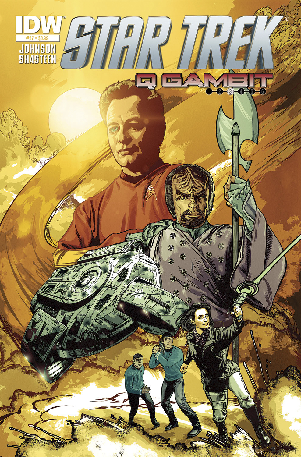 STAR TREK ONGOING #37