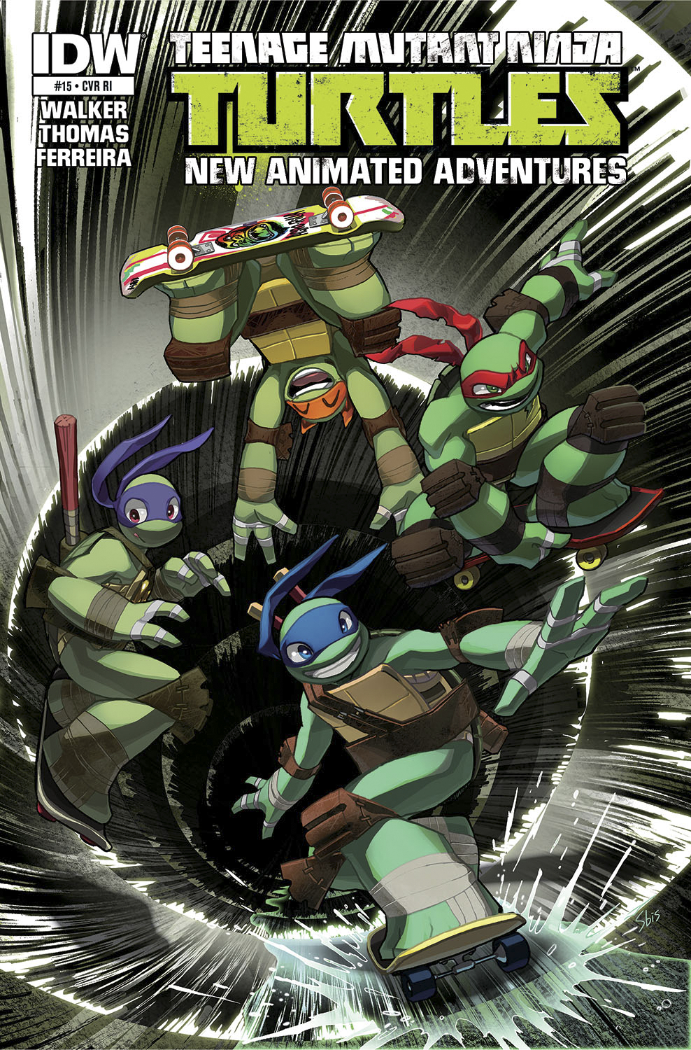 TMNT NEW ANIMATED ADVENTURES #15