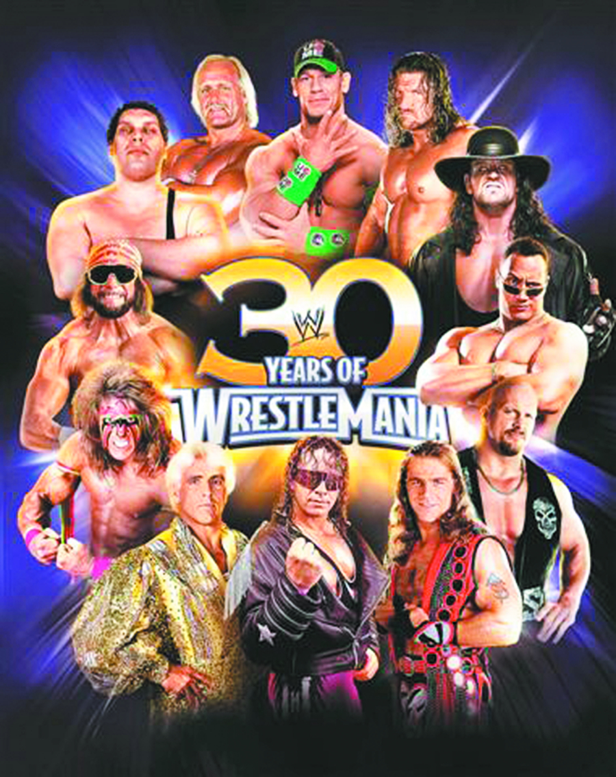 30 YEARS OF WRESTLEMANIA HC