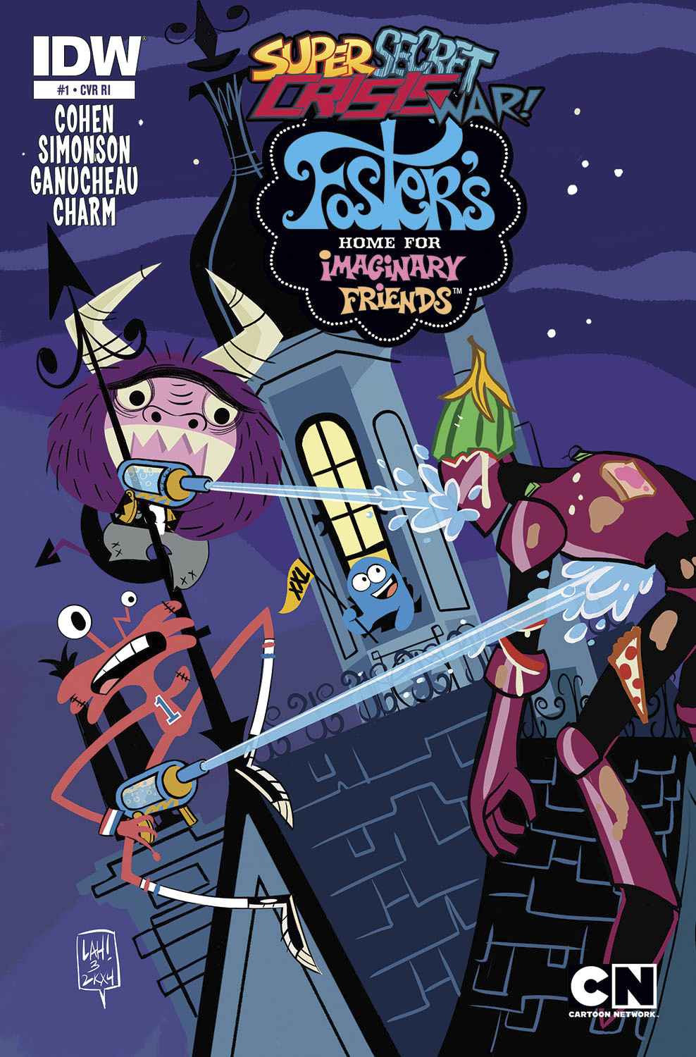 SSCW FOSTERS HOME FOR IMAGINARY FRIENDS #1 10 COPY INCV