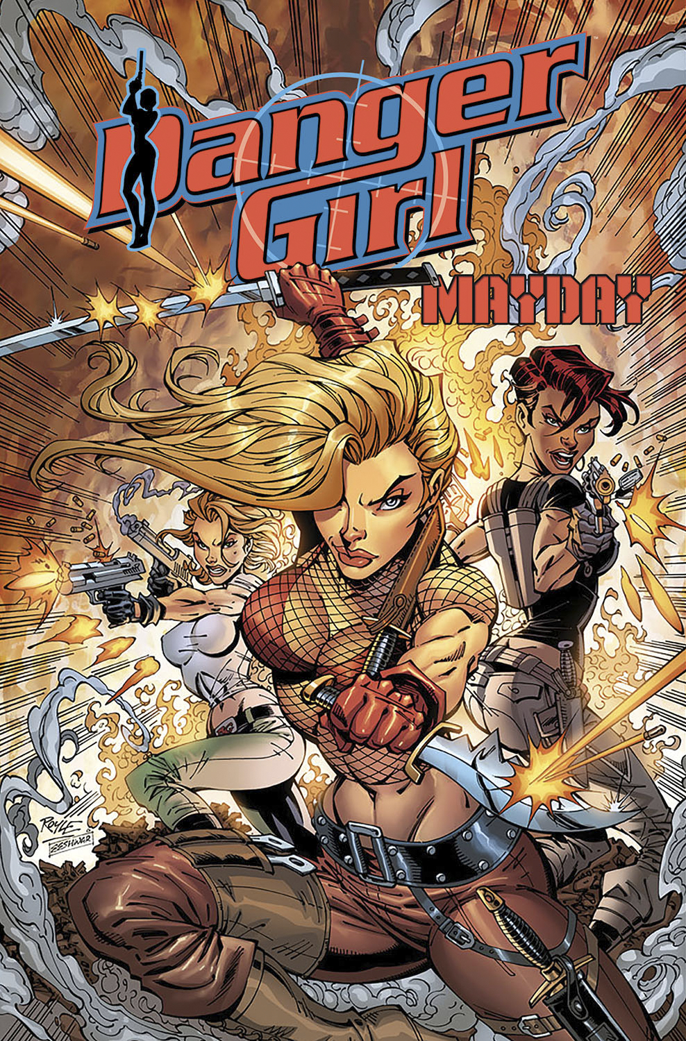 DANGER GIRL MAYDAY TP
