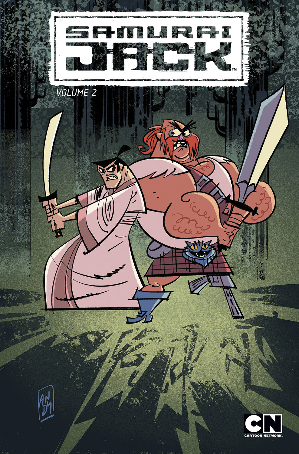 SAMURAI JACK TP VOL 02 SCOTSMANS CURSE