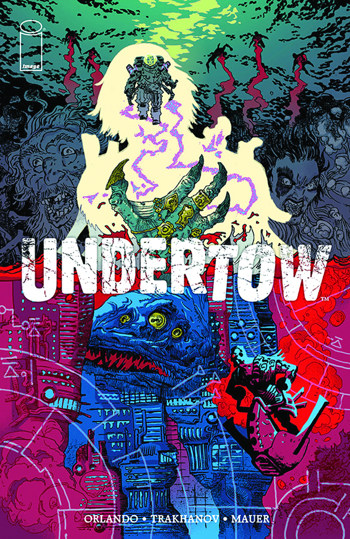 UNDERTOW TP VOL 01 BOATMANS CALL