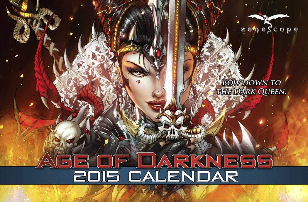 GFT AGE OF DARKNESS 2015 CALENDAR