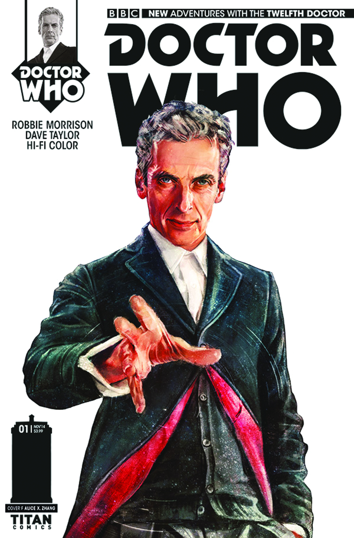 DOCTOR WHO 12TH #1 100 COPY INCV ZHANG STARK