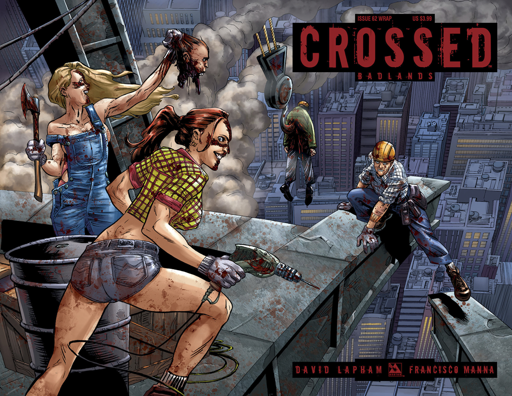 CROSSED BADLANDS #62 WRAP CVR
