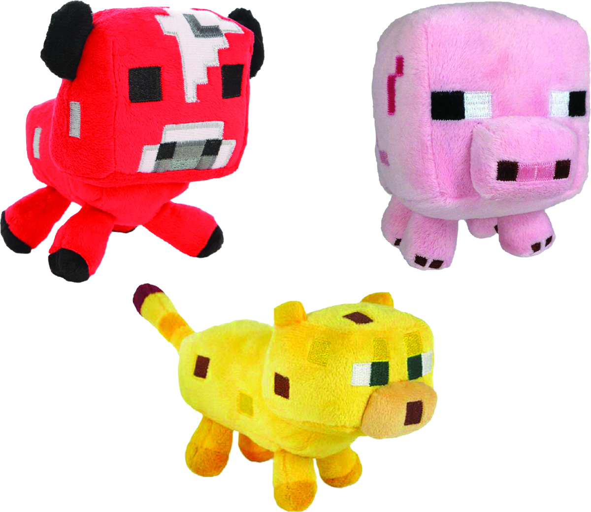 MINECRAFT ANIMAL 7IN PLUSH ASST #2