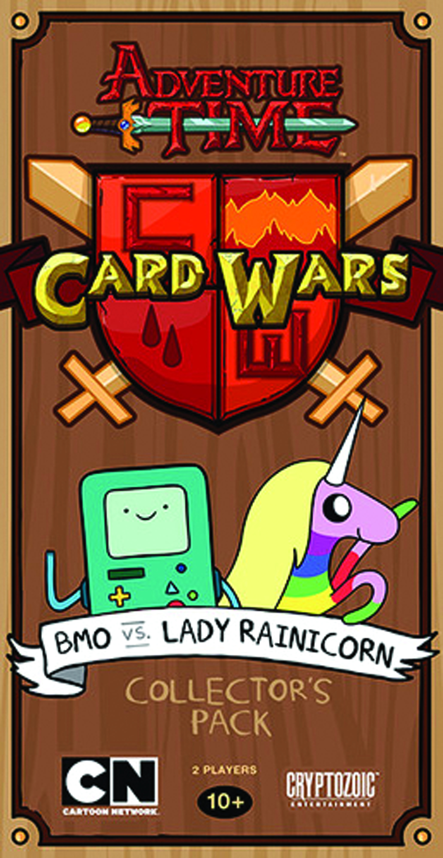 ADV TIME CARD WARS PACK 1 DIS FINN VS JAKE