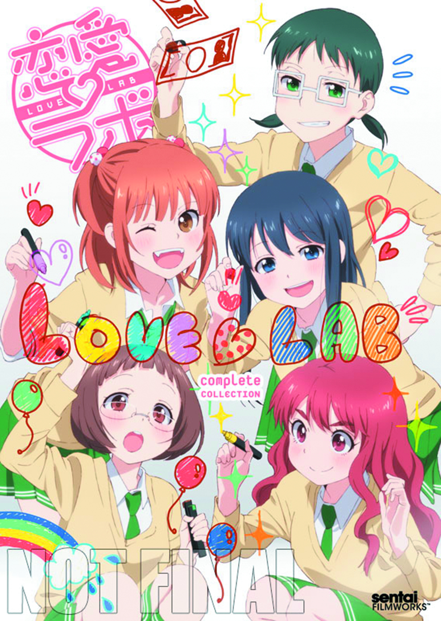 LOVE LAB COMP COLL DVD