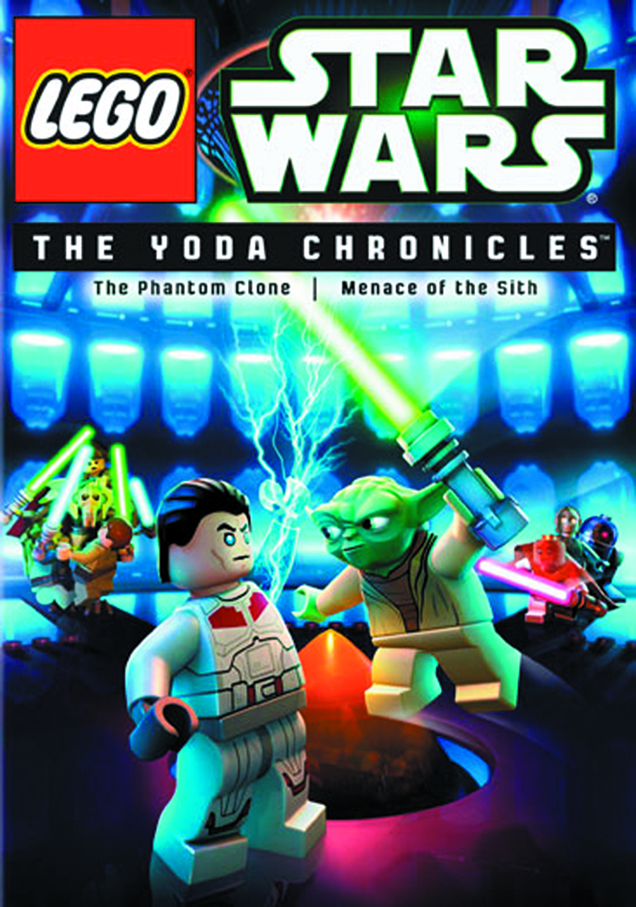 LEGO STAR WARS YODA CHRONICLES DVD