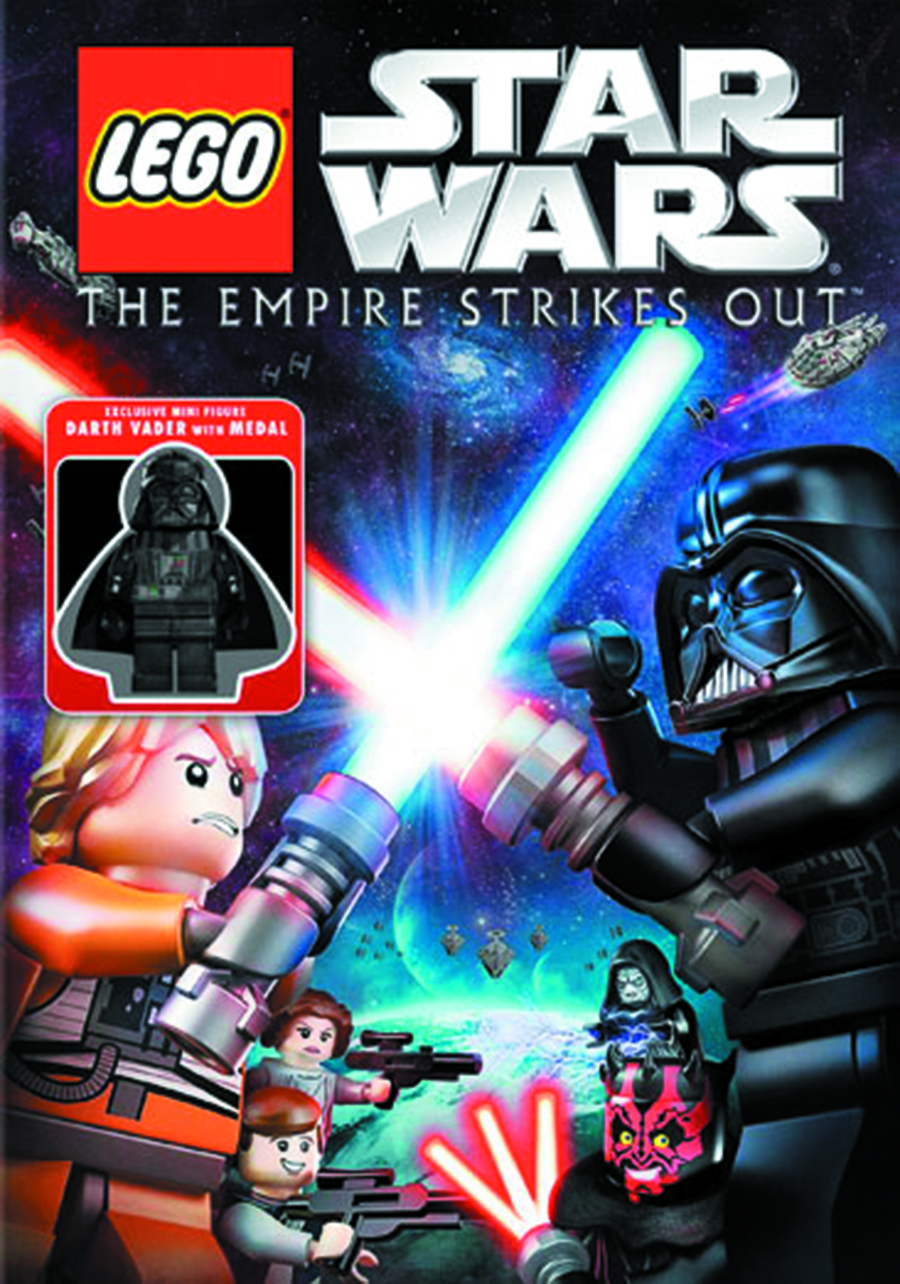 LEGO STAR WARS EMPIRE STRIKES OUT DVD
