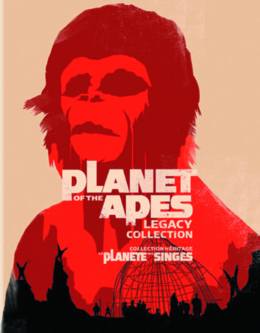 PLANET OF THE APES LEGACY COLL DVD