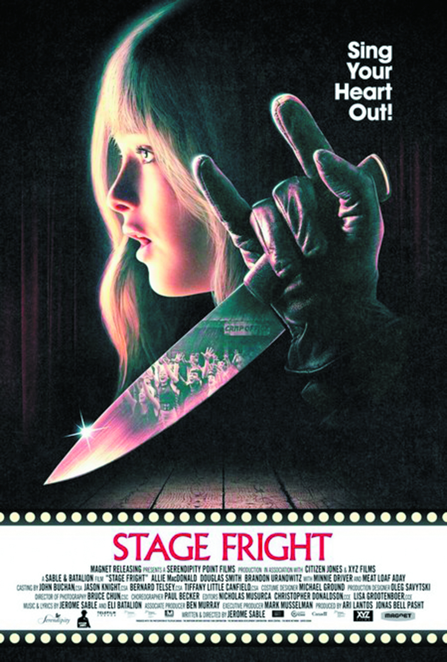 STAGE FRIGHT BD