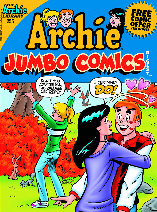 ARCHIE JUMBO COMICS DIGEST #255 (NOTE PRICE)