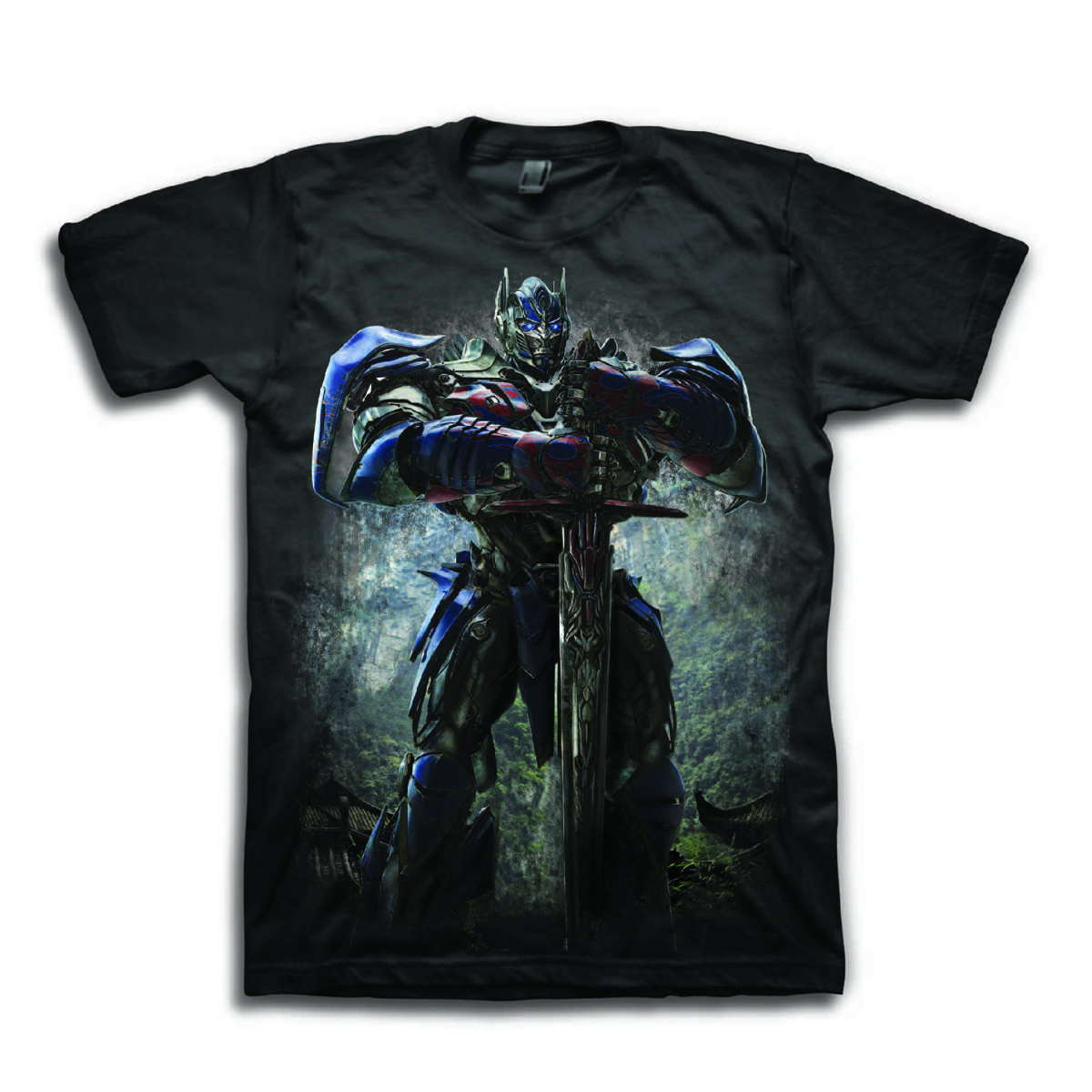 TF EXTINTION OPTIMUS SWORD PX BLK T/S LG
