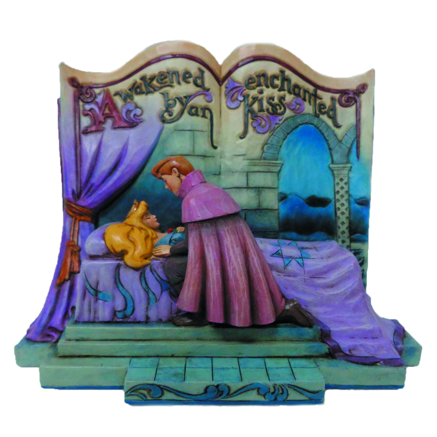 DISNEY TRADITIONS SLEEPING BEAUTY STORYBOOK FIG