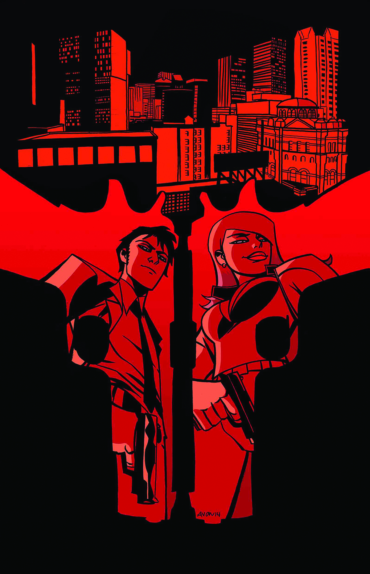 UNITED STATES OF MURDER INC #1 2ND PTG OEMING VAR (MR)