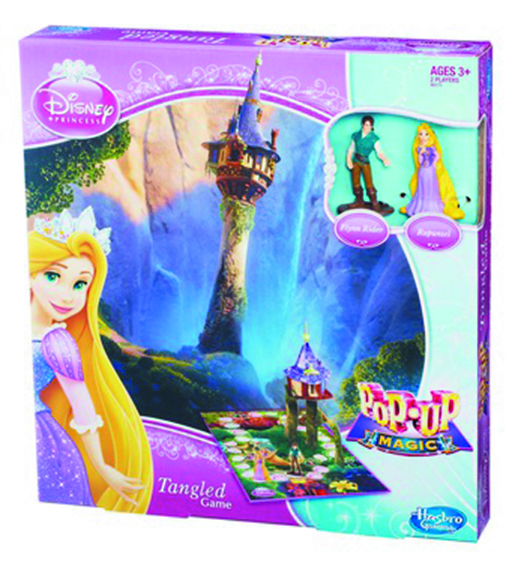 DISNEY PRINCESS POP-UP MAGIC TANGLED GAME
