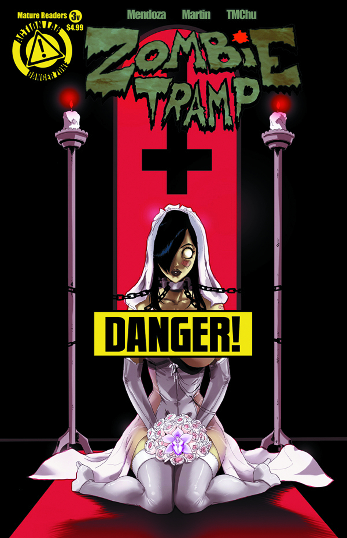 ZOMBIE TRAMP ONGOING #3 RISQUE VAR