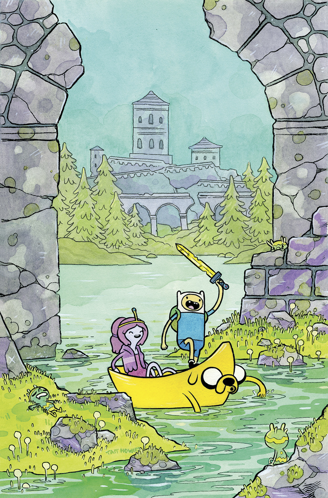 ADVENTURE TIME #32 SUBSCRIPTION HOWARD VAR