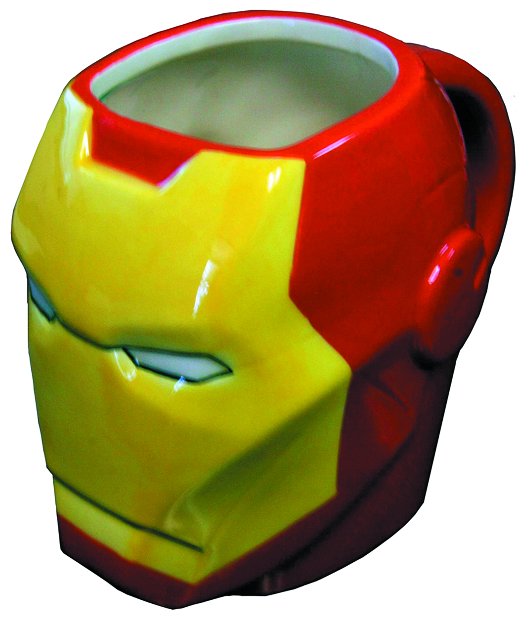 IRON MAN MOLDED HEAD MUG
