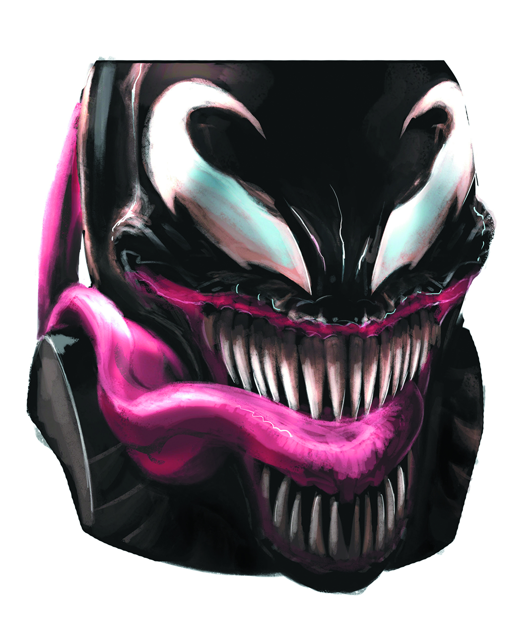 VENOM MOLDED HEAD MUG