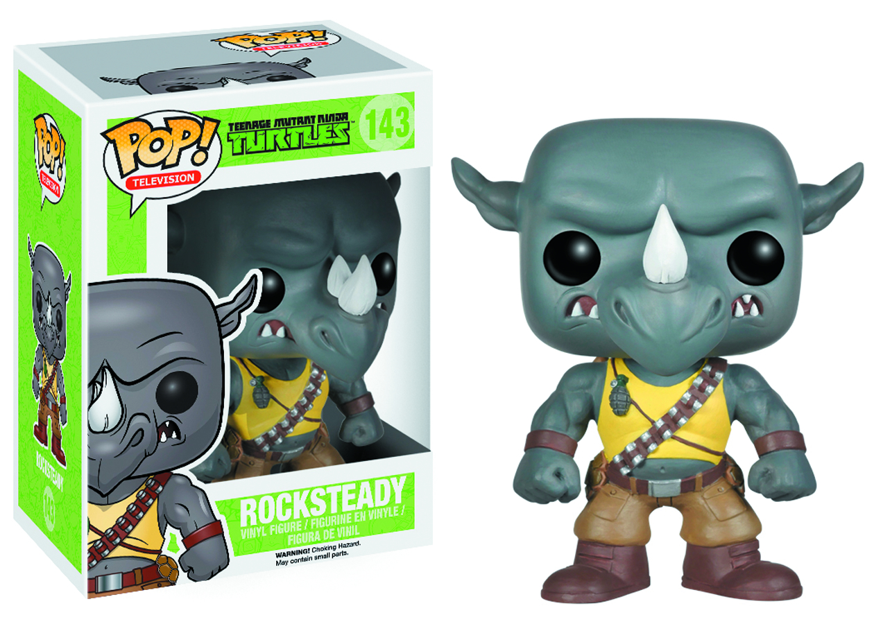 POP TMNT ROCKSTEADY VINYL FIG