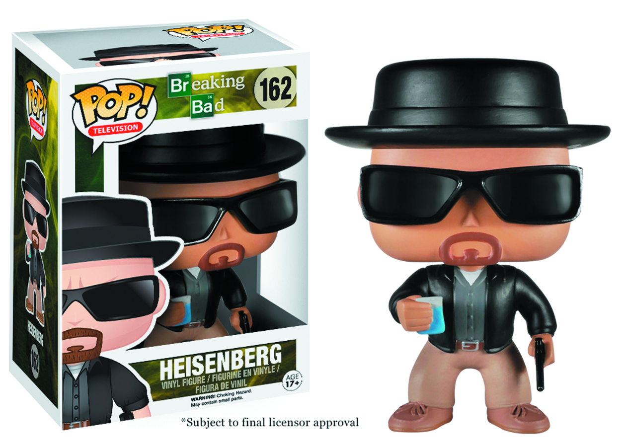 POP BREAKING BAD HEISENBERG VINYL FIG