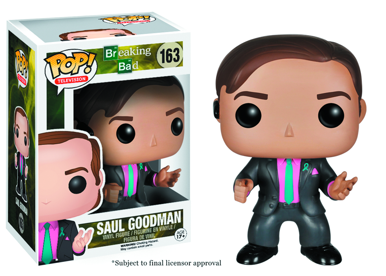 POP BREAKING BAD SAUL GOODMAN VINYL FIG