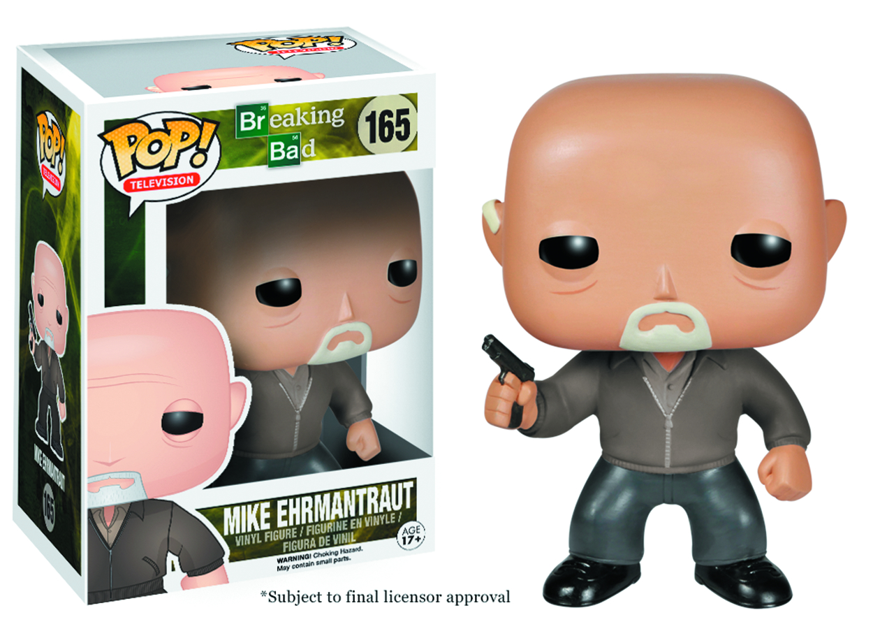 POP BREAKING BAD MIKE EHRMANTRAUT VINYL FIG