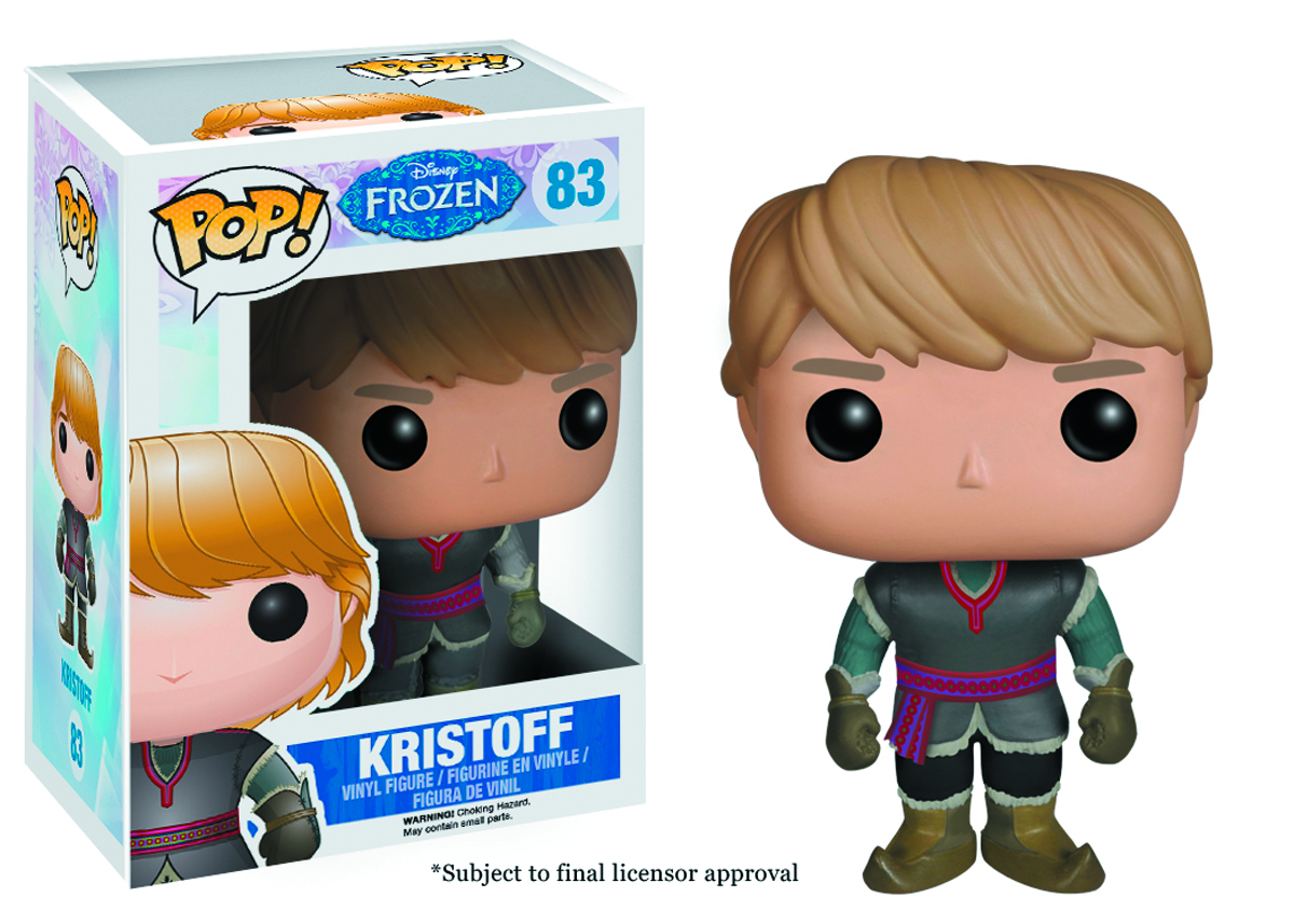 POP FROZEN KRISTOFF VINYL FIG