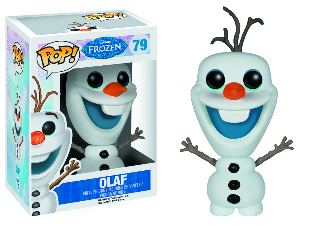 POP FROZEN OLAF VINYL FIG